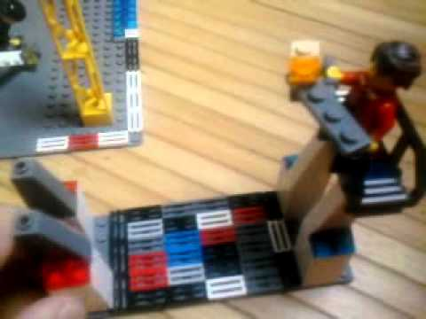 how to make a duel disk out of lego