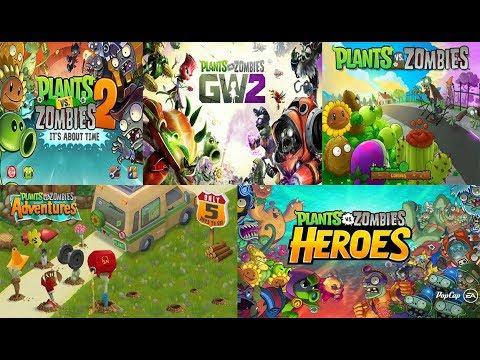 PARA GAMERS HARUS TAHU!!! Inilah Evolusi Game Plant Vs Zombie Dari Dulu Sampai Sekarang