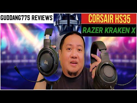 Guddang775 Reviews The Corsair HS35 and The Razer Kraken X