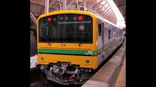 【自走回送】JR東_GV-E197系TS-01編成@水上(2021/1/29)