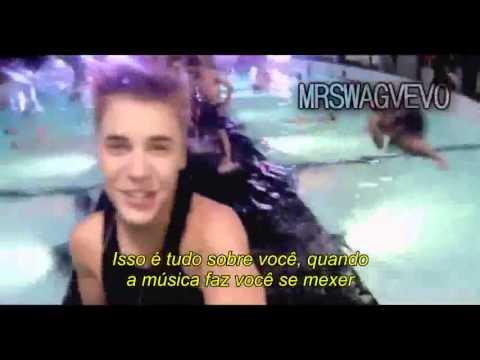 Justin Bieber Feat Nicki Minaj  Beauty And A Beat (Legendado em Português) Official Music Video