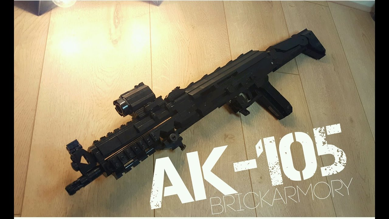 Ak 105 lego ak-105 custom(review) - youtube