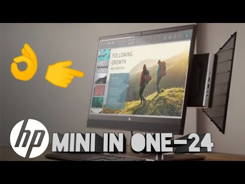 Hp mini-in-one 24 display Unboxing review and detail specs