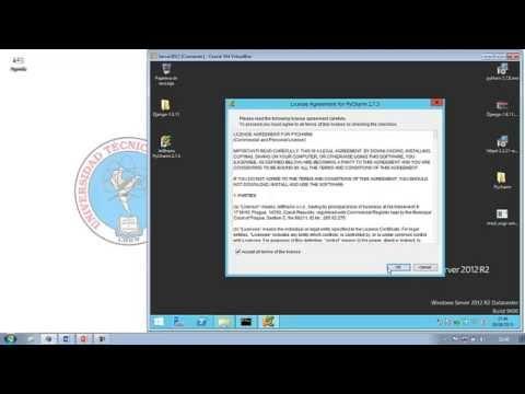 Puesta en producción de Aplicación Django en servidor web Apache en Windows Server 2012.
