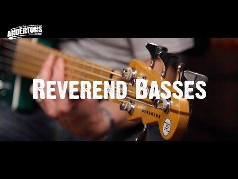 All About The Bass - Reverend Basses - Now at Andertons