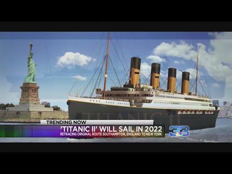 Il Titanic II salperà nel 2022 e farà lo stesso tragitto di Jack e Rose