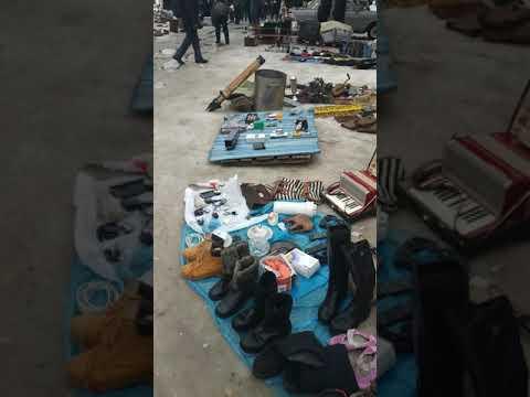 Рынок старых вещей барахолка город Харьков