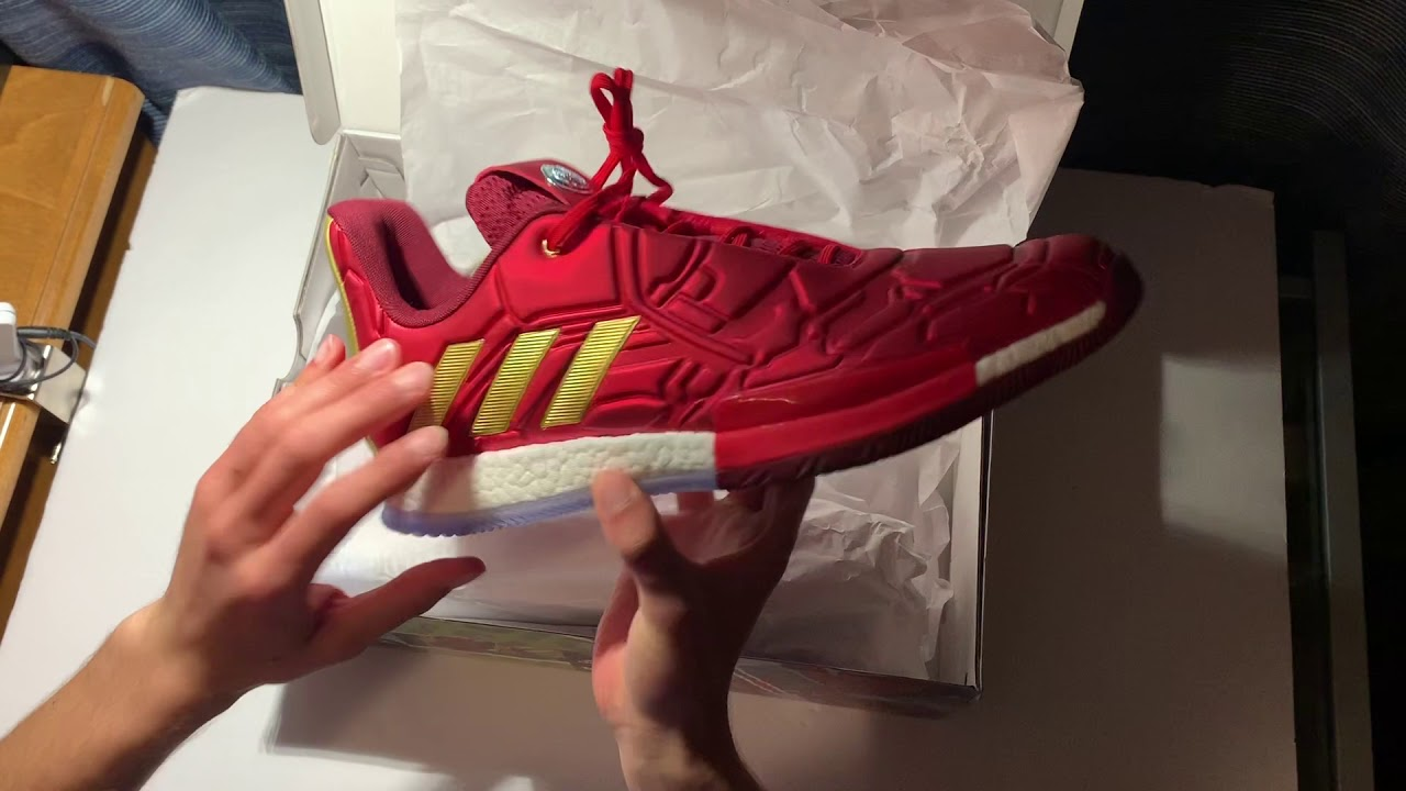 ADIDAS Harden Vol.3 'Iron Man'