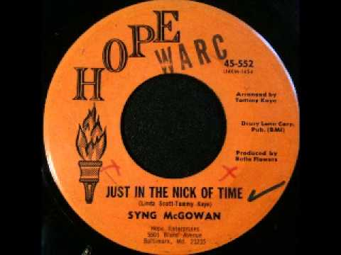 Syng McGowan - just in the nick of time [Hope]