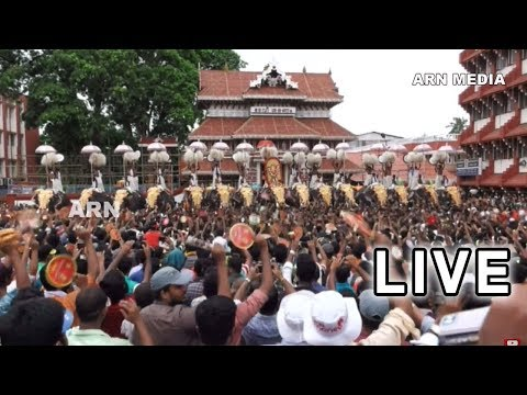 Thrissur Pooram 2018 Live  - പാറമേക്കാവ് പുറപ്പാട്