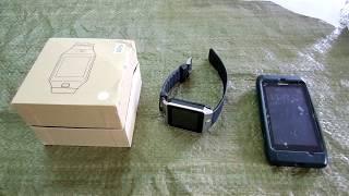 Обзор умных часов Smart Watch Phone DZ-09