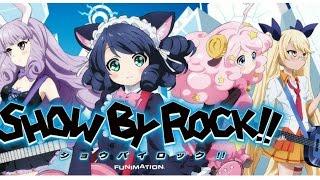 Descarga Show by rock un exelente juego de Anime al estilo de Guitar Hero