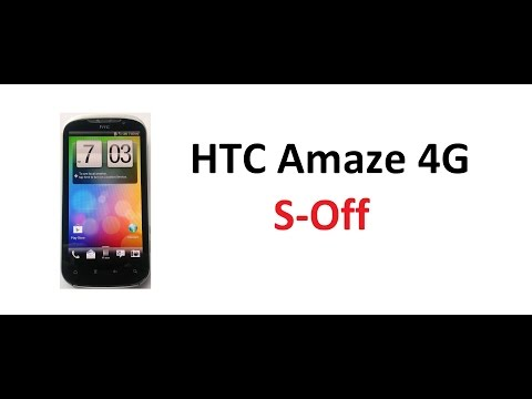 HTC Amaze 4G - S-Off using JuopunutBear