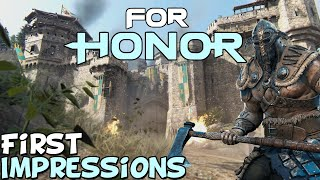 "For Honor 2020 First Impressions ""Is It Worth Playing?"""