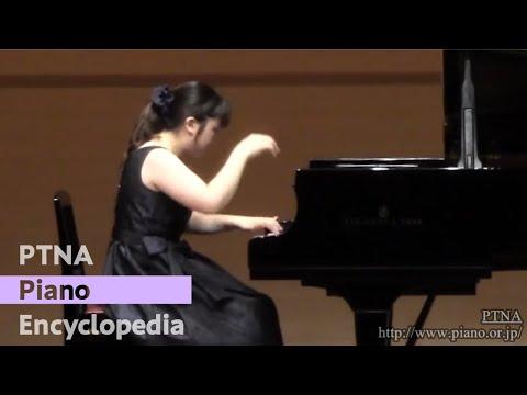 2012特級二次 木村友梨香/ラフマニノフ:楽興の時 より第4番
