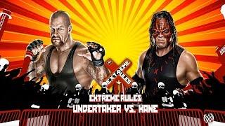 WWE 2K15 PC: Undertaker VS. Kane @ Extreme Rules