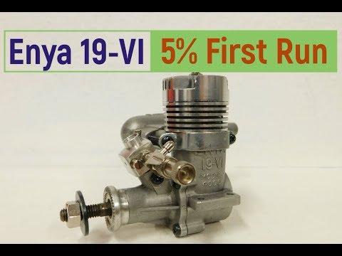Enya 19-VI First Run