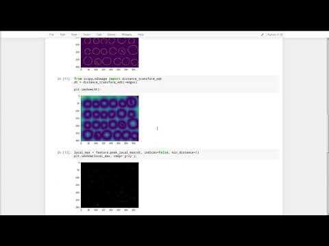 scikit-image: segmentation and regionprops - YouTube