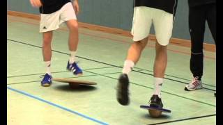 Produktvideo zu Koordinationstrainer zur Verbesserung der Haltung Pedalo Trimm-Top 38