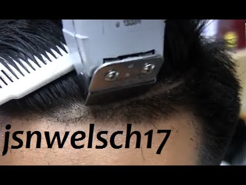 how to cut a comb over yourself