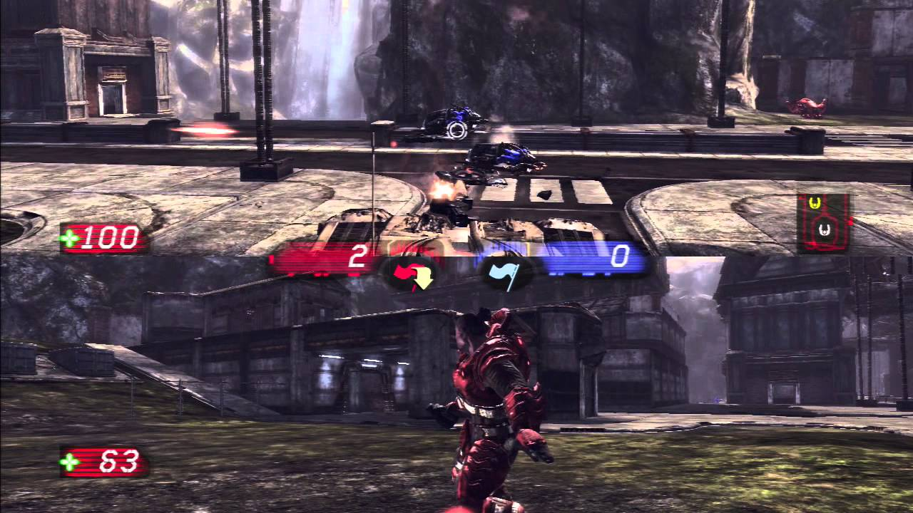 Unreal Tournament 3 PS3 2 Player Split Screen Co-op ...
