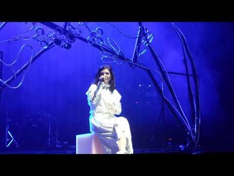 Liability Speech - Lorde live at Tempodrom in Berlin, Germany 15.10.2017