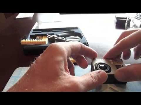 how to take apart a GoPro Hero3 Black
