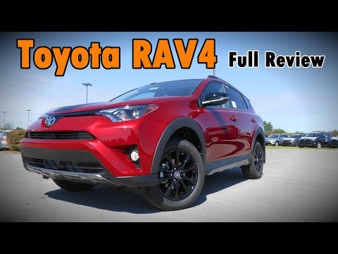 2018 Toyota RAV4: Full Review | Adventure, Platinum, Limited, SE, XLE & LE