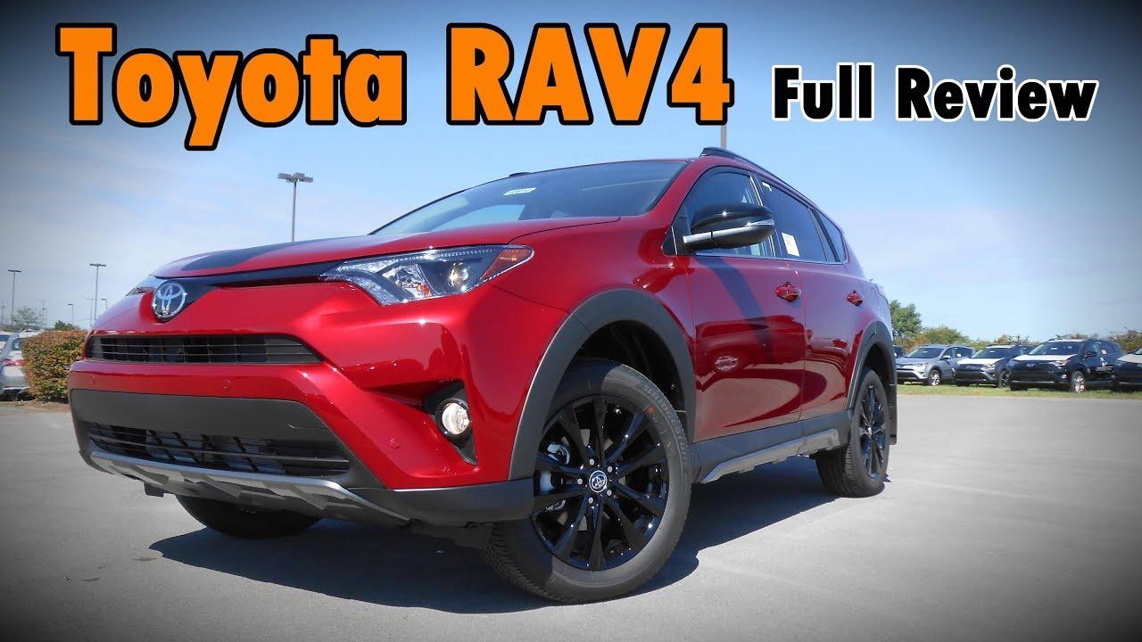 2017 Toyota Rav4 Xle >> 2018 Toyota RAV4: Full Review | Adventure, Platinum, Limited, SE, XLE & LE - YouTube