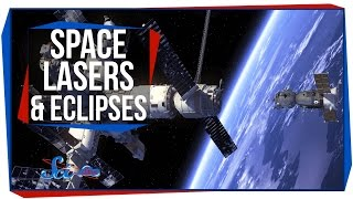 Destroying Space Junk With Lasers, and Two Rare Eclipses!
