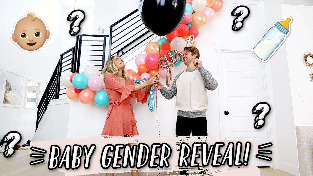 OFFICIAL BABY GENDER REVEAL! ????????| Aspyn + Parker