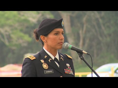 Tulsi Gabbard Veterans Day Speech (Nov. 11, 2016)