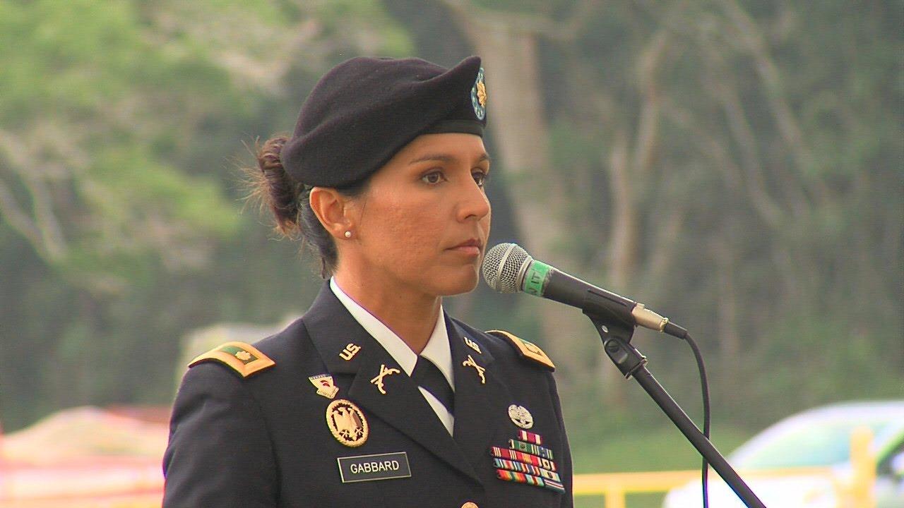 Tulsi Gabbard Veterans Day Speech Nov 11 2016 YouTube