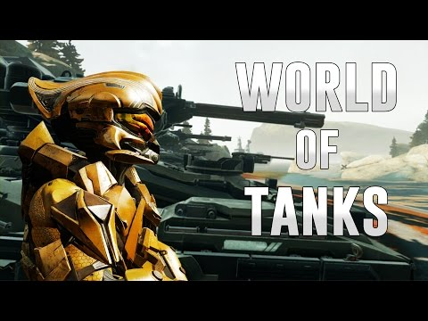 World of Tanks | Halo 5 Custom