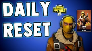 FORTNITE DAILY SKIN RESET - RAPTOR SKIN FINALLY! Fortnite Battle Royale New Daily Items in Item Shop
