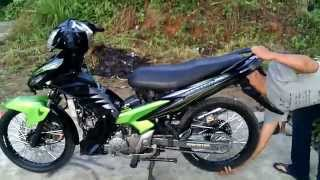 Knalpot FU150 di New Jupiter MX by bang bary