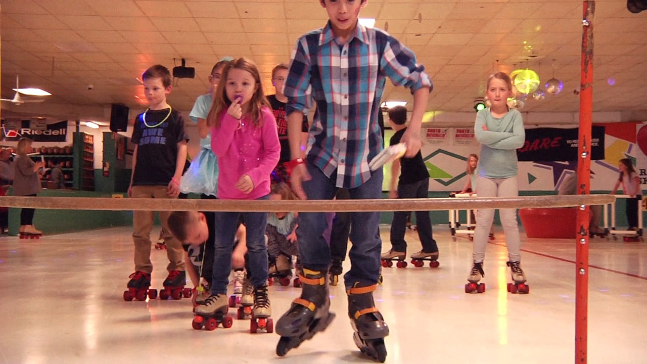 Do the limbo at skate america grove city ohio roller skating rink columbus ohio