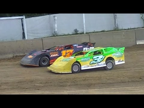 Crate Late Model Heat | Old Bradford Speedway | 8-28-16