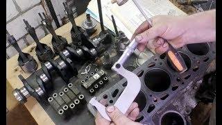 Дефектовка и закупка запчастей. Ремонт мотора ВАЗ 2103.  2 часть