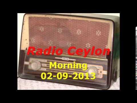03~Radio Ceylon 02-09-2013~Morning Broadcast