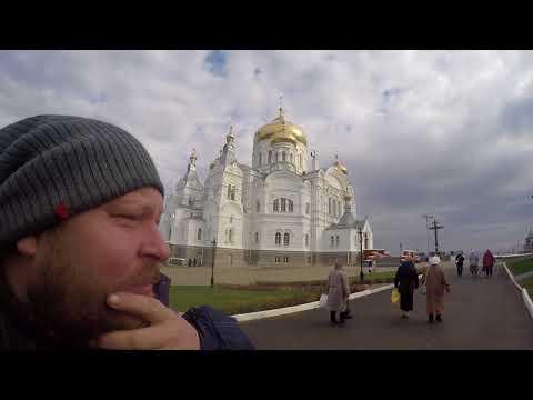 Архитектор. Рабочие поездки в Белогорский монастырь.