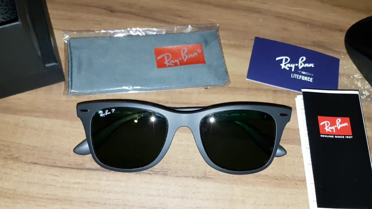 e2c54175ca7 Ray-Ban WAYFARER LITEFORCE RB4195