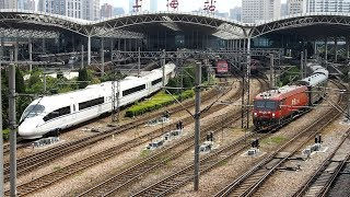 2019/04/13 【中国鉄道】 特快 & 高速鉄道 上海駅 | China Railway: Express & High Speed at Shanghai