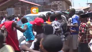 Mombasa youth accost Ababu's convoy, call him a traitor