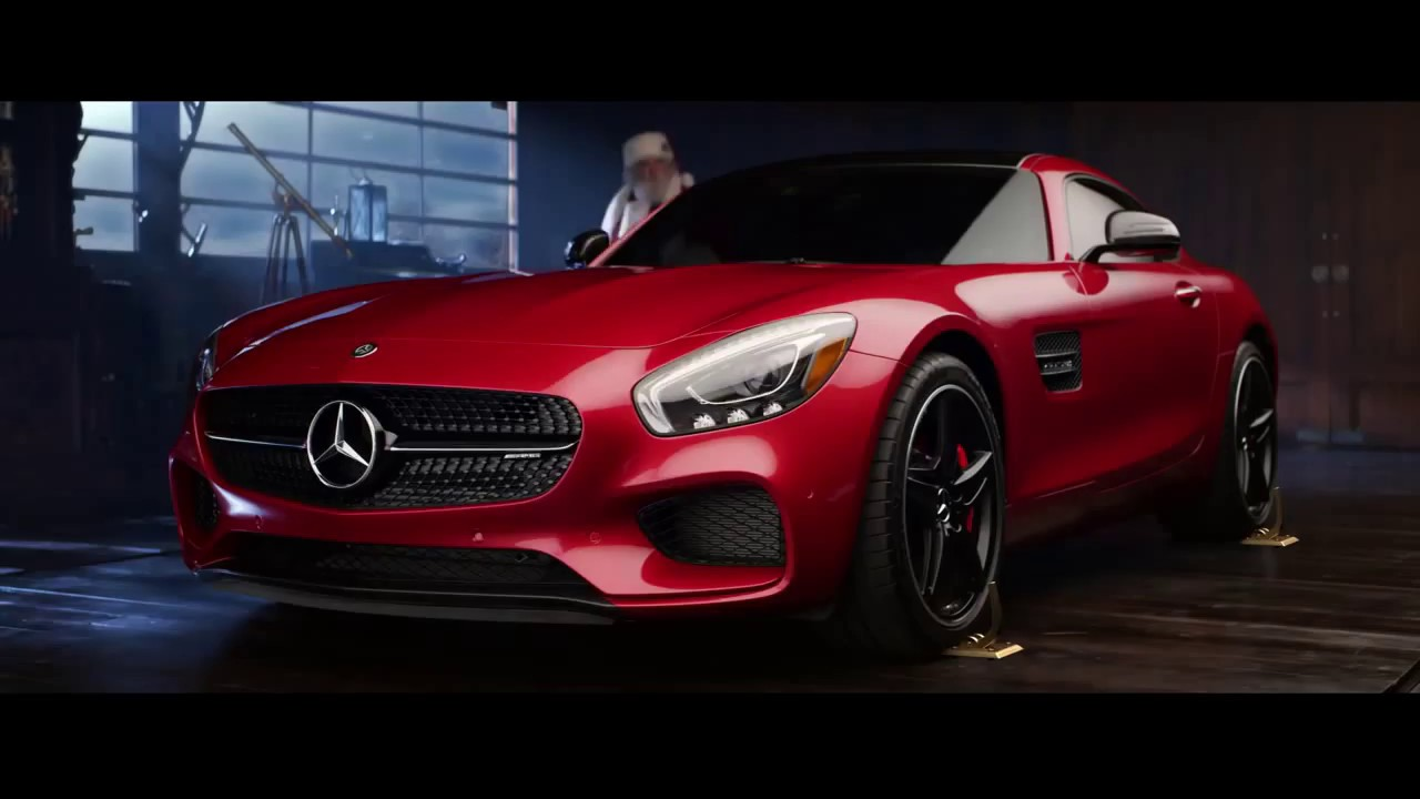 Mercedes benz winter event commercial switcheroo youtube for 2017 mercedes benz winter event