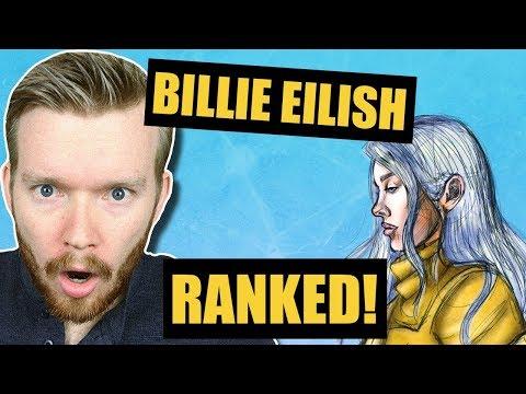 All Billie Eilish Song Ranked Worst To Best