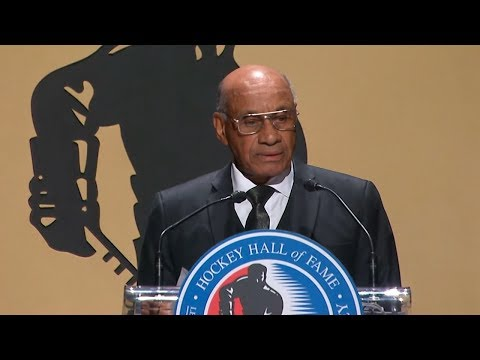 Willie O'Ree's Hall of Fame speech