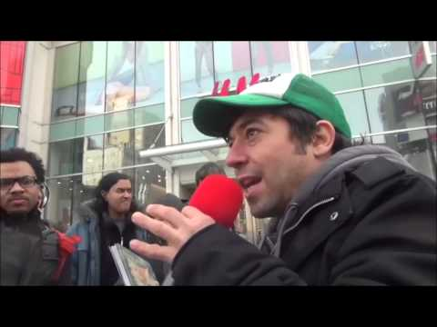 "Vegan ""Animal Rights"" Activist vs Toronto Christian Preacher: Is Eating Meat wrong/sin?"