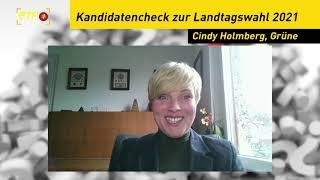 Landtagskandidaten - Kurzcheck: Cindy Holmberg, Grüne