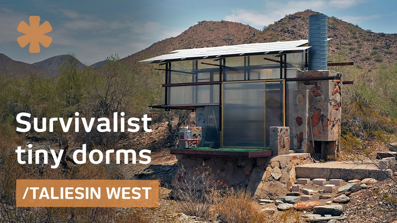 Survivalist Tiny Dorms At Frank Lloyd Wright S Taliesin